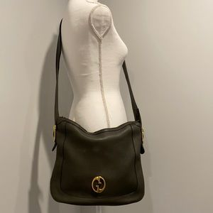 😍 Gucci 1973 RARE Crossbody Leather Messenger Bag